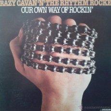 Discos de vinilo: MAGNIFICO LP DE - GRAZY - CAVAN - N`THE - RHYTHM - ROCKERS -. Lote 42305244