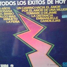 Discos de vinilo: MAGNIFICO - LP - TODOS - LOS - EXITOS - DE- HOY - DEL AÑO 1975 - VOL. 3. Lote 42305688