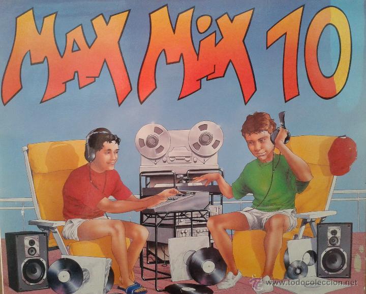 MAGNIFICO - ALBUM - MAX - MIX - 10 - DOBLE LPS. (Música - Discos - LP Vinilo - Techno, Trance y House)