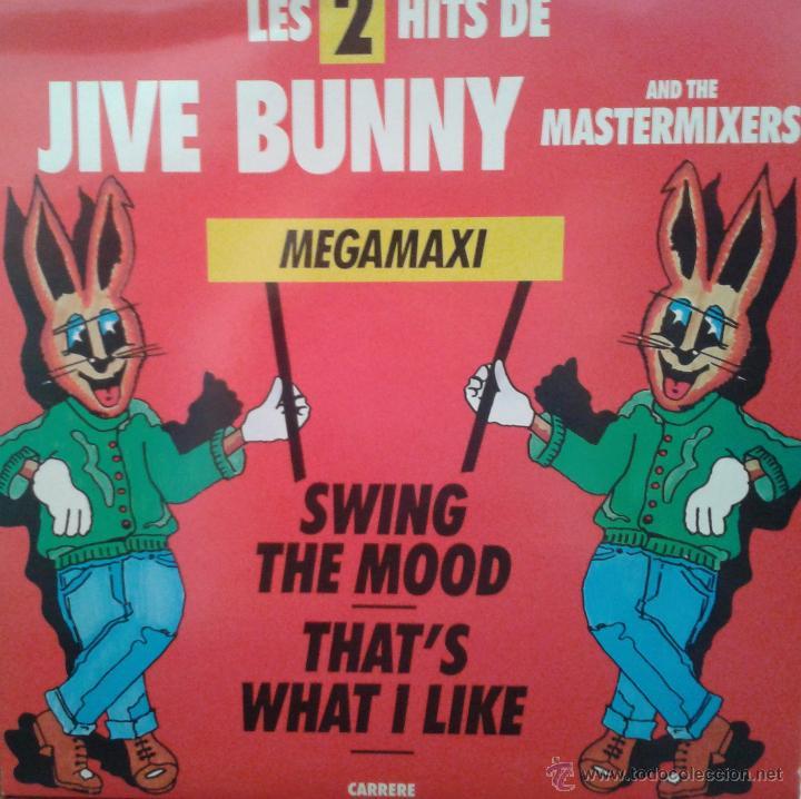 MAGNIFICO - LP - LES - 2 HITS- DE - JIVE - BUNNY - (Música - Discos - LP Vinilo - Techno, Trance y House)