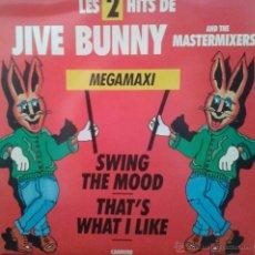 Discos de vinilo: MAGNIFICO - LP - LES - 2 HITS- DE - JIVE - BUNNY - . Lote 42305811