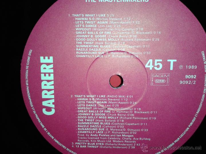 Discos de vinilo: MAGNIFICO - LP - LES - 2 HITS- DE - JIVE - BUNNY - - Foto 2 - 42305811