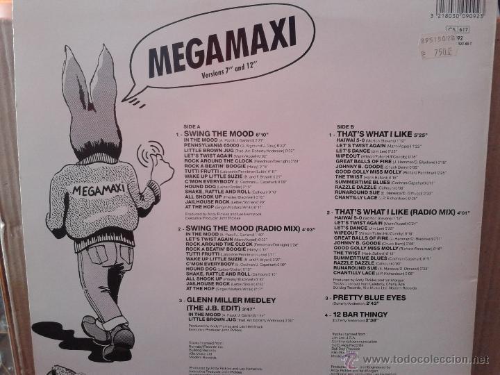 Discos de vinilo: MAGNIFICO - LP - LES - 2 HITS- DE - JIVE - BUNNY - - Foto 4 - 42305811