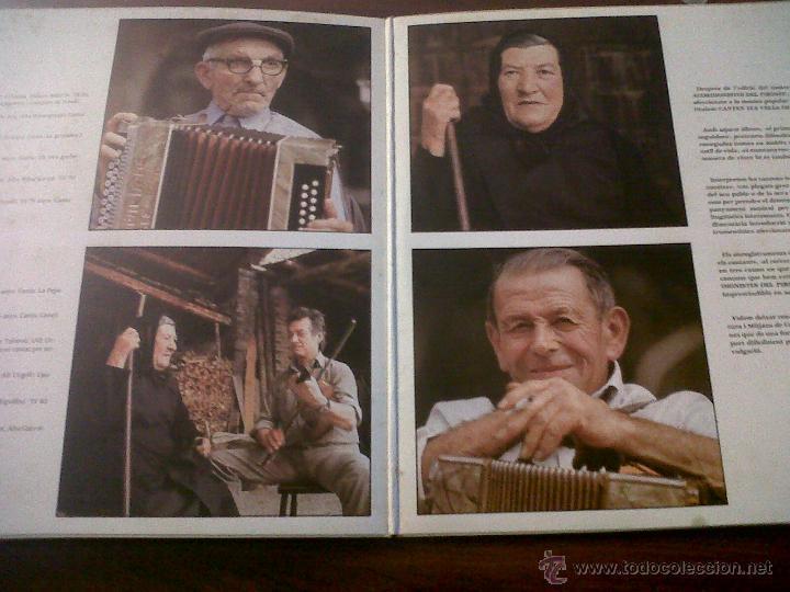 Discos de vinilo: LP CANTEN ELS VELLS DEL PIIRINEU-AUVI 1982-CONTIENE LETRAS-DITJOSA PRIMAVERA-CANÇONS DE RONDA.... - Foto 2 - 42312887