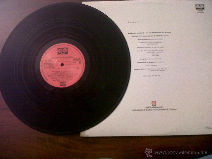 Discos de vinilo: LP CANTEN ELS VELLS DEL PIIRINEU-AUVI 1982-CONTIENE LETRAS-DITJOSA PRIMAVERA-CANÇONS DE RONDA.... - Foto 3 - 42312887