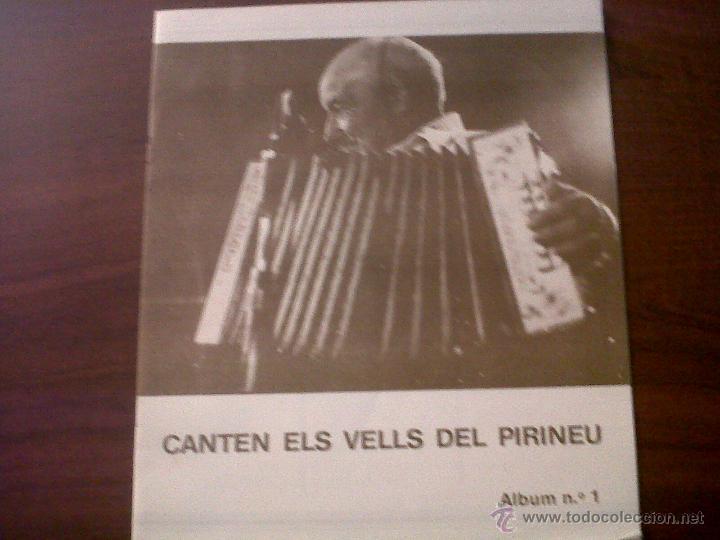 Discos de vinilo: LP CANTEN ELS VELLS DEL PIIRINEU-AUVI 1982-CONTIENE LETRAS-DITJOSA PRIMAVERA-CANÇONS DE RONDA.... - Foto 4 - 42312887