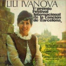 Disques de vinyle: LILI IVANOVA - FESTIVAL DE BARCELONA, EP, DA VIARVAM LI? + 2 , AÑO 1968. Lote 42314917