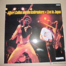 Discos de vinilo: ALBERT COLLINS AND THE ICEBREAKERS (LP) LIVE IN JAPAN AÑO 1984. Lote 42317866