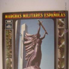Discos de vinilo: LP. MARCHAS MILITARES ESPAÑOLAS. HIMNO DE LA ACADEMIA DE INFANTERÍA/LOS VOLUNTARIOS...REGAL. 1969. Lote 42320736