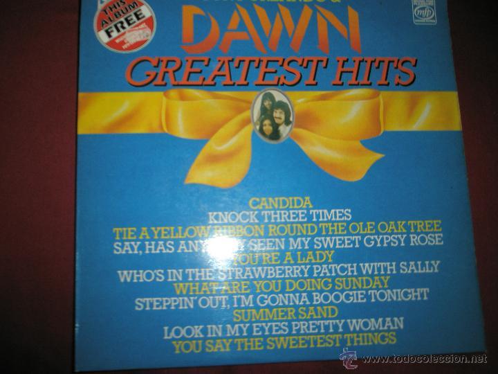 =LP-VINILO-GRAN BRETAÑA-TONY ORLANDO & DAWN-GREATEST HITS-1970S-. (Música - Discos - LP Vinilo - Pop - Rock - Internacional de los 70)