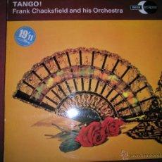 Discos de vinilo: =Aº LP-VINILO-GRAN BRETAÑA-TANGO-FRANK CHACKSFIELD AND HIS ORCHESTRA-1962-VER FOTOGRAFÍAS.. Lote 42336741