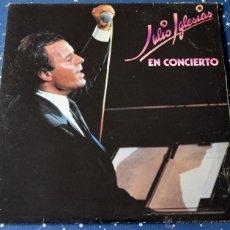 Discos de vinilo: JULIO IGLESIAS EN CONCIERTO - 2 LP - CBS 1983. Lote 42337483