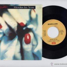 Discos de vinilo: MARILLION UK 45 RPM HOOKS IN YOU. Lote 42341704