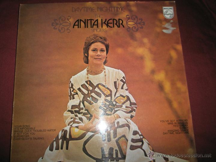 =Aº LP-VINILO-GRAN BRETAÑA-ANITA KERR-DAYTIME,NIGHTIME-PHILIPS-1970.1.2-BUEN ESTADO. (Música - Discos - LP Vinilo - Cantautores Internacionales)