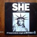 Discos de vinilo: ROSKO - SHE ( POWER TO BE ) + WHERE ARE YOU , MAMA . Lote 42348150