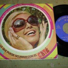 Discos de vinilo: COMITE ESPAÑOL DE PROMOCION DEL CAFE LO QUE PUEDE OCURRIR CON EL CAFE 1968 SINGLE. Lote 155799500