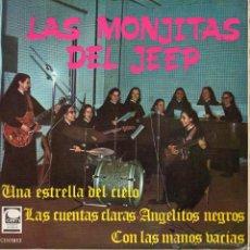 Discos de vinilo: MONJITAS DEL JEEP, EP, UNA ESTRELLA DEL CIELO + 3 , AÑO 1967. Lote 42349799
