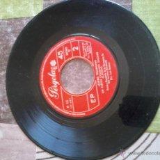 Discos de vinilo: DISCO PEQUEÑOS. ALEGRES VILLANCICOS. UN PASTOR COMIENDO GACHAS. ALEGRIAS. COROS DE LA PARROQUIA SAN . Lote 42351666