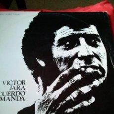 Discos de vinilo: LP VICTOR JARA AÑO 1975. Lote 246552885