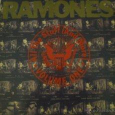 Discos de vinilo: RAMONES: ALL THE STUFF(AND MORE). DOBLE LP EN VINILO- DIFICIL DE ENCONTRAR. Lote 99284172