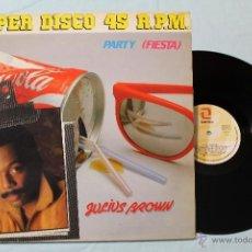 Discos de vinilo: JULIUS BROWN PARTY FIESTA MAXI 12 1983. Lote 42357579