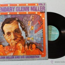 Discos de vinilo: GLENN MILLER THE LEGENDARY LP VINIL RCA SPAIN 1976. Lote 42357811