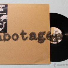 Discos de vinilo: SABOTAGE SABOTAGE002 SILVER HAZE HIDDEN PARK WORKS MAXI 12 RARE. Lote 42358121