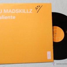 Discos de vinilo: DJ MADSKILLZ CALIENTE MAXI 12 BLANCO Y NEGRO. Lote 42358166