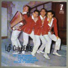 Discos de vinilo: LOS CHIMBEROS. AY MI MADRID + 3. ZAFIRO 1965. LITERACOMIC.. Lote 42368392