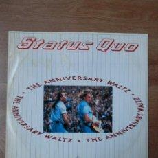 Discos de vinilo: THE ANNIVERSARY WALTZ - STATUS QUO. Lote 42368654