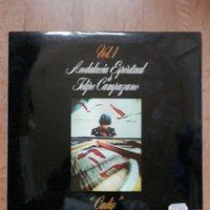 Discos de vinilo: ANDALUCÍA ESPIRITUAL. VOL. 1. CÁDIZ - FELIPE CAMPUZANO. Lote 42368723