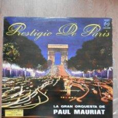 Discos de vinilo: PRESTIGIO DE PARÍS - LA GRAN ORQUESTA DE PAUL MAURIAT. Lote 42368726