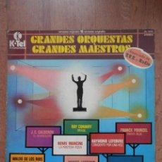 Discos de vinilo: GRANDES ORQUESTAS. GRANDES MAESTROS. 16 VERSIONES ORIGINALES - DIVERSOS AUTORES. Lote 42368745