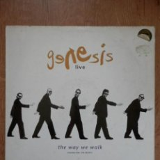 Discos de vinilo: LIVE. THE WAY WE WALK. VOLUME ONE: THE SHORTS - GENESIS. Lote 42368772