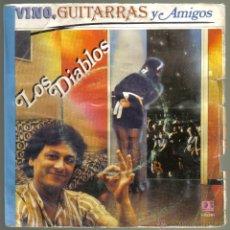Discos de vinilo: LOS DIABLOS. VINO, GUITARRAS Y AMIGOS. BELTER . LITERACOMIC.. Lote 42369279