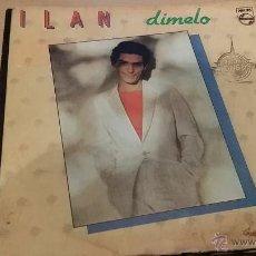Discos de vinilo: ILAN - DIMELO - QUE PASO - 1983. Lote 42369504