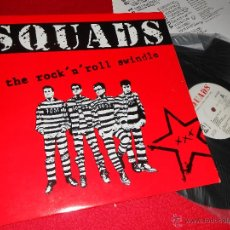 Discos de vinilo: SQUADS THE ROCK 'N' ROLL SWINDLE LP 1992 PSM RECORDS CATALA PUNK ROCK . Lote 42374688