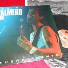 Discos de vinilo: REMIGI PALMERO AFUERA ADENTRO LP 1988 PDI VALENCIA VINILO NUEVO. Lote 42375166
