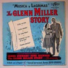 Discos de vinilo: THE GLENN MILLER STORY - MÚSICA Y LÁGRIMAS. Lote 42375475