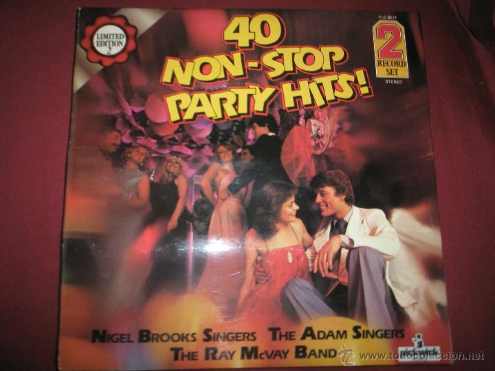 AºS LPS-VINILO-(2)-40 NON STOP PARTY HITS-1979-PICKWICK- (Música - Discos - LP Vinilo - Cantautores Internacionales)