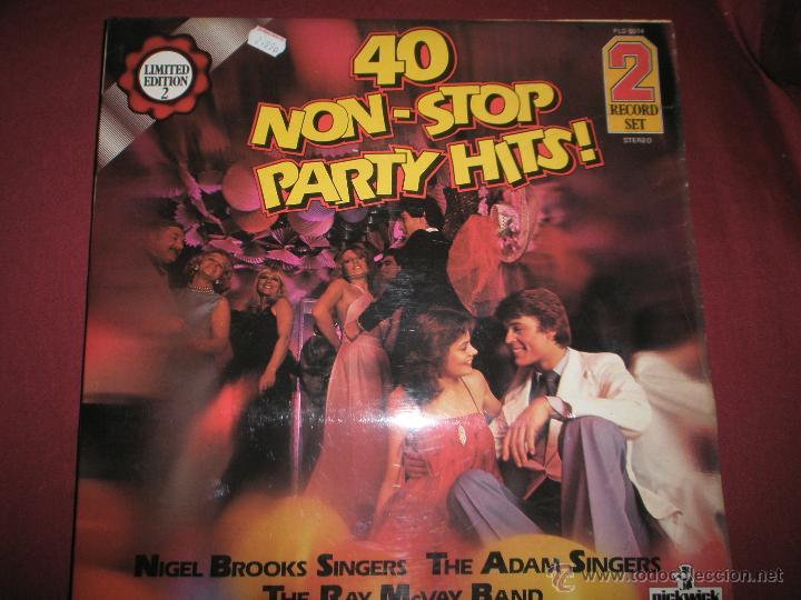 Discos de vinilo: AºS LPS-VINILO-(2)-40 NON STOP PARTY HITS-1979-PICKWICK- - Foto 8 - 42375814