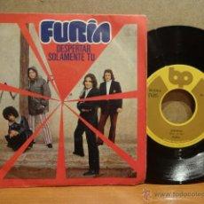 Discos de vinilo: FURIA ( EX GATOS NEGROS ) DESPERTAR. SINGLE / BP - 1972. VINILO DE BUENA CALIDAD. ***/***. Lote 42376903