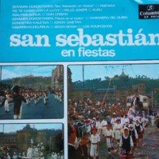 Discos de vinilo: SAN SEBASTIAN EN FIESTAS(ORQUESTA DE CONCIERTOS,ORFEON DONOSTIARRA Y OTROS)DEL 68. Lote 42379464