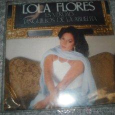 Discos de vinilo: LOLA FLORES, ES VERDAD, TANGUILLOS DE LA ABUELA DEL AÑO 1980. Lote 42385479
