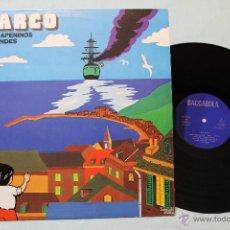 Discos de vinilo: MARCO DE LOS APENINOS A LOS ANDES LP VINYL 1978. Lote 90894423