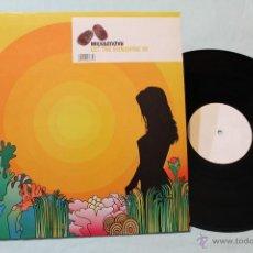 Discos de vinilo: MILK & SUGAR LET THE SUNSHINE IN MAXI ETIQUETA BLANCA RARO. Lote 42387449