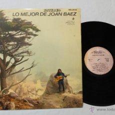 Discos de vinilo: JOAN BAEZ LO MEJOR LP VINIL HVA 471-02 HISPAVOX 1965 SPAIN. Lote 42387862