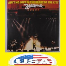 Discos de vinilo: WHITESNAKE / NO LOVE IN THE HEART OF THE CITY 80 ( J LORD, I PAICE, RARO, ORG USA EDT !! IMPECABLE. Lote 42389420