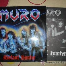 Discos de vinilo: MURO: MUTANT HUNTER. EDICION VINILO CON ENCATE. BUENISIMOOOO.. Lote 42391035