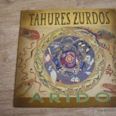 Discos de vinilo: TAHURES ZURDOS, ARIDO, EMI, 1992, SPAIN, LP. Lote 42391961